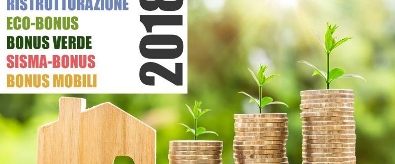 Finanziaria 2018 detrazioni fiscali sintec associati for Detrazioni fiscali 2018