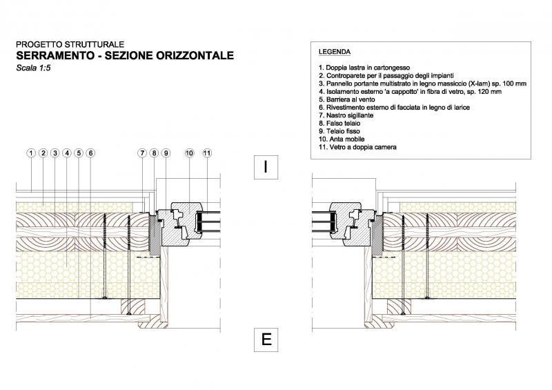 Particolari costruttivi sintec associati sinergie tecniche for Finestra scala 1 50